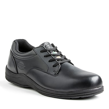 Dickies® Wallace Men's Slip Resistant Safety Shoe, Black, Size 10.5