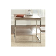 Steve Silver Furniture Lucia End Table; Brown