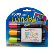 EXPO® DryErase Marker, Bullet Tip, Assorted, 3/Pack