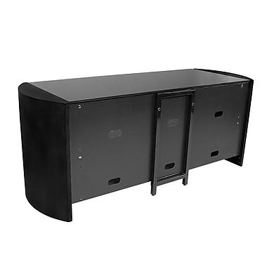 Kanto – Meuble Mesa pour téléviseur de 50 po, noir