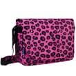 Wildkin Pink Leopard Laptop Messenger Bag