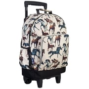 Wildkin Horse Dreams High Roller Rolling Backpack