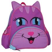Geo Preschool Backpack, Purple/Pink Cat