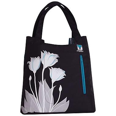 Motiv – Mallette de style sac à main, noire, pour ordinateur portatif