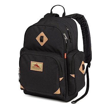 High Sierra Warren Backpack, Black