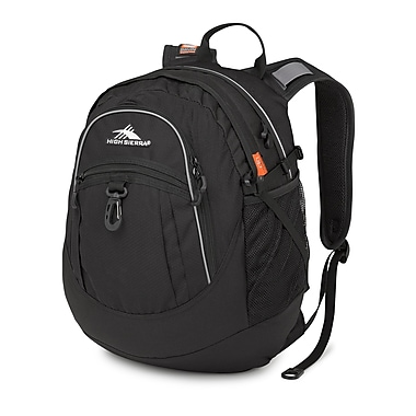 High Sierra Fat Boy Backpack, Black