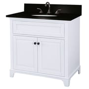 "Foremost Hastings Collection 36"" Vanity, White Oak Finish, 2 Doors"