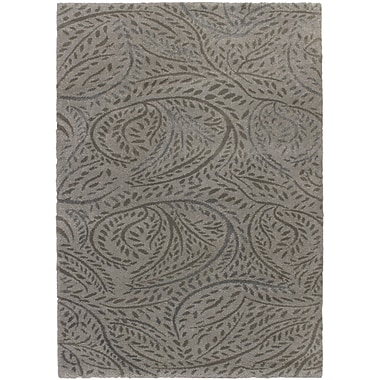 Torabi Rugs Venda Shag, Grey, 5'5