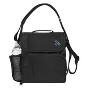 Travelon Anti-Theft React Small Messenger Bag; Black