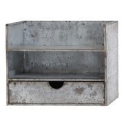 Woodland Imports Classy Awestruck Metal Wall Shelf