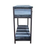 Gallerie Decor Soho Console Table; Blue