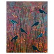 PTM Images Botanical Birds Giclee Printed on Wrapped Canvas