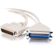 C2G® Parallel Printer Cable, 3', DB25 Male to Centronics 36 Male (2797)