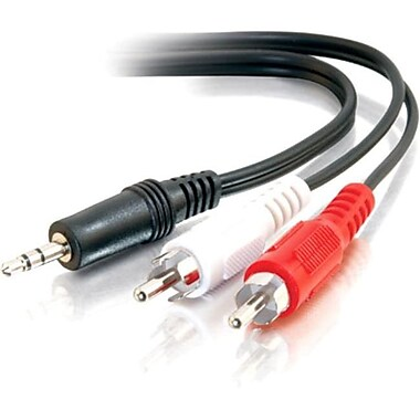 C2G 6Ft 3.5Mm Stereo To Rca M/M Ycable (40423)