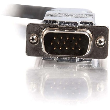 C2G 35Ft Plenum-Rated Hd15 M/M Uxgamonitor/Projector Cable (40262)