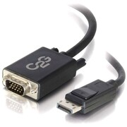 C2G ® 54333 10' DisplayPort to VGA Adapter Cable, Black