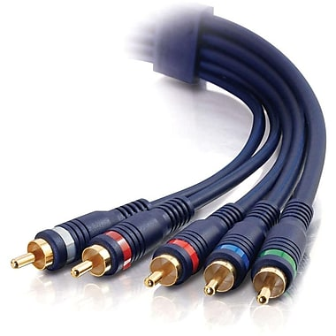 C2G 1.5Ft Velocity Component Video+ Rca Stereo Audio M/M Cable (40006)