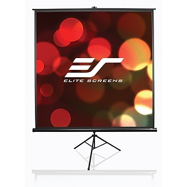 Elite Screens T120UWH Tripod End Projector Screen