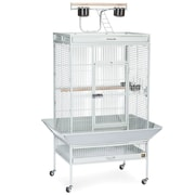 Prevue Hendryx Signature Series Large Bird Cage; Pewter