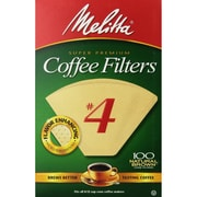 Melitta® Cone No. 4 Coffee Filters 8 -12 Paper Cup, 1200 filters/ct