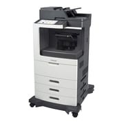 Lexmark™ Multifunction Mono Laser Printer With Staple Finisher, 63 ppm, 1750 Sheets