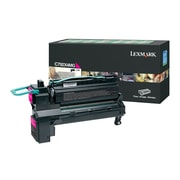 Lexmark™ Extra High-Yield Return Program Toner Cartridge For Lexmark™ C792/ X792, Magenta