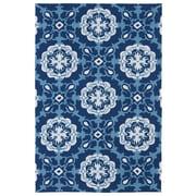 Kaleen Matira Blue Indoor/Outdoor Rug II; 2' x 3'