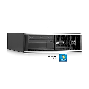 HP Refurbished Pro SFF Desktop (6005), AMD Athlon II X2 B24 Processor 3.0GHz, 4GB RAM, 500GB HDD, DVD, Windows 7 Pro, English