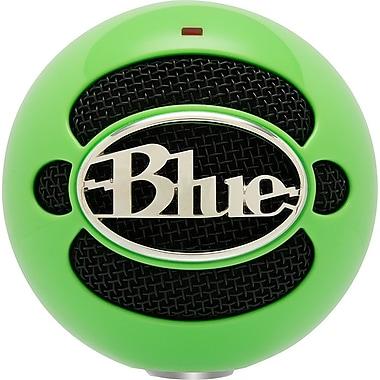 Blue Microphones – Microphone USB Snowball, vert fluo