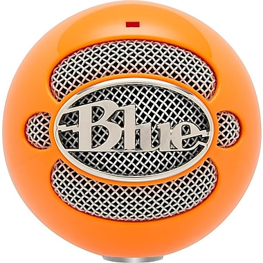 Blue Microphones Snowball USB Microphone, Neon Orange