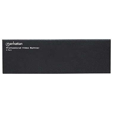 Manhattan 4-Port Professional VGA Video Splitter