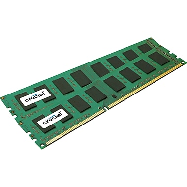 Crucial – Mémoire d'ordinateur CT2KIT25664BA16 DDR3 de 1600 MHz et de 4 Go