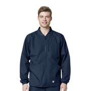 Carhartt® Men's Ripstop Zip Front Scrub Jacket 3XL Navy