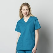 WonderWink® WonderWORK Women's V-Neck Scrub Top 2XL Teal