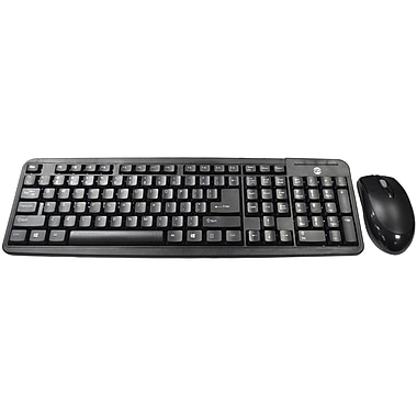 RetailPlus SK1100 Keyboard and Mouse USB 2.0 Desktop Set