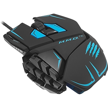 Mad Catz M.M.O. TE Gaming Mouse for PC and Mac, Matte Black