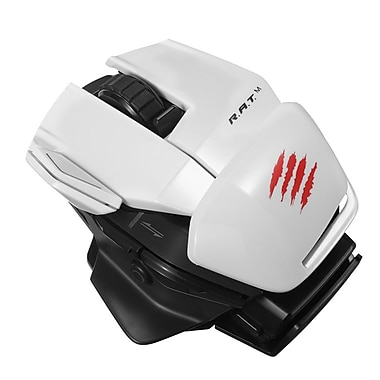 Mad Catz Office R.A.T.M Wireless Mobile Mouse, White