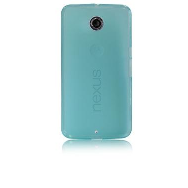 Gel Grip – Étui adhérent en gel pour Motorola Nexus 6 fait de TPUR, bleu