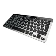 Logitech (920-004161) Bluetooth Wireless Easy-Switch Keyboard, Aluminium