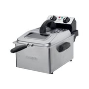 Waring  Professional 2.3 lbs. Deep Fryer, Brushed Stainless