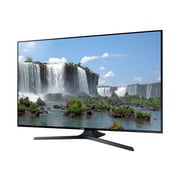 "Samsung J6300 55"" 1080p LED-LCD Smart TV, Brushed Silver"