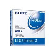 Sony LTO Ultrium 2 Tape Cartridge, 200GB (Native)/400GB (Compressed) (LTX200GWW)