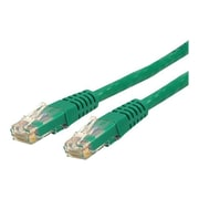 StarTech  C6PATCH5GN 5ft Cat 6 Green Molded RJ45 UTP Gigabit Patch Cable, 5ft Patch Cord