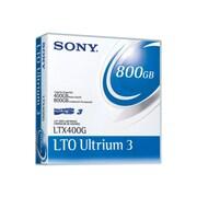 Sony LTO Ultrium 3 Tape Cartridge, 400GB (Native)/800GB (Compressed) (LTX400GWW)