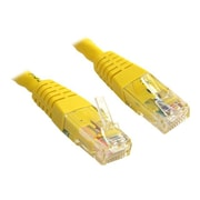 StarTech Cat 6 UTP Crossover Molded Patch Cable, Yellow, 15'