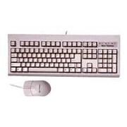 Keytronic TAG-A-LONG-U2 Wired USB Optical Keyboard and Mouse, Black