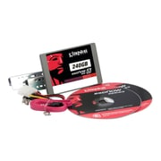 "Kingston® SSDNow V300 240GB 2.5"" SATA Internal Solid State Drive Desktop Budle Kit (SV300S3D7/240G)"