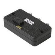 STEREN 200-315 2-Way Coaxial A/B Push-Button Switch, Black