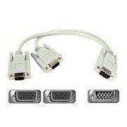 Belkin PRO F3G006-01 1' HD-15 Monitor Display Video Cable, Gray