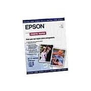"""Epson® Premium Photo Paper, 19"""" x 13"""", White/Blue (S041327)"""